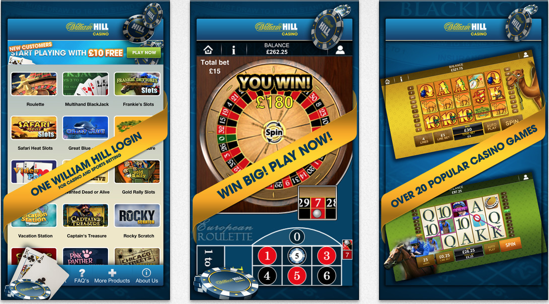 download william hill casino free