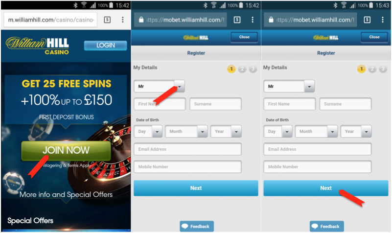 online william hill casino  android