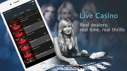 Live casino on Android