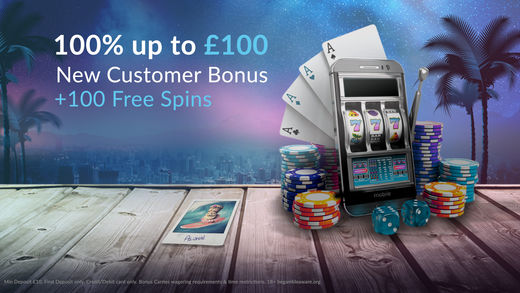 New customer bonus - 100% on your first deposit at the Betvictor casino