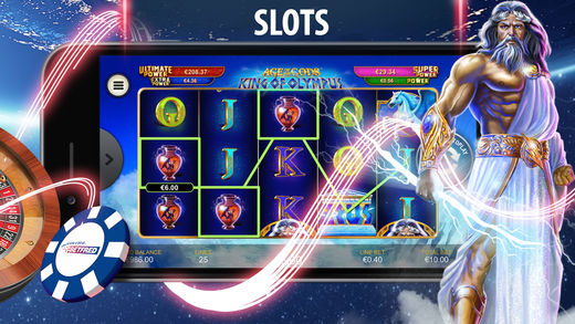Slots games on the app
